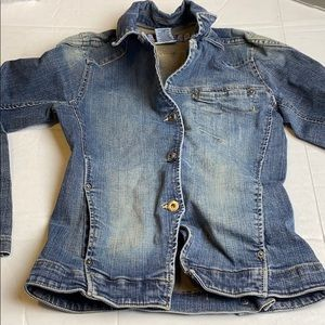Silver Jeans Small Denim Jacket Button Up